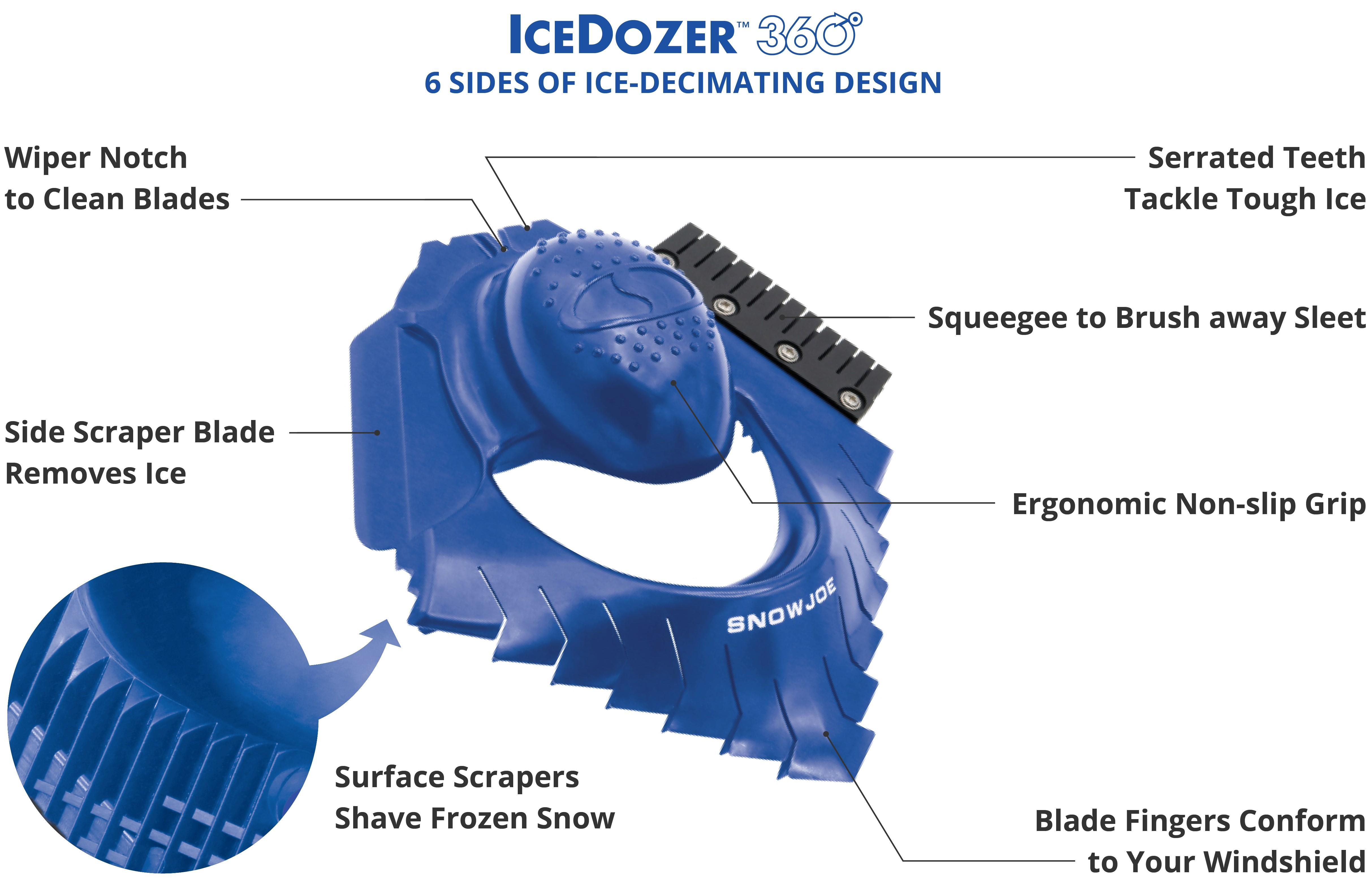 Hopkins 994-PKUS Mallory Pink Snow Tools 10 Ice Scraper